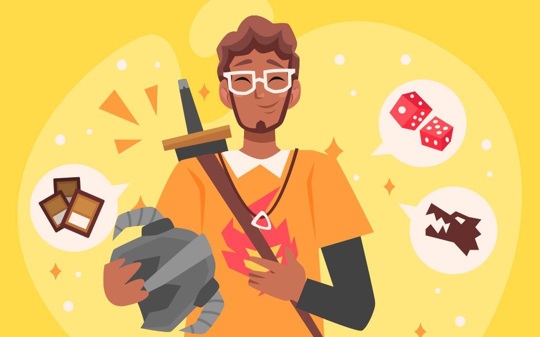 Ilustração geek