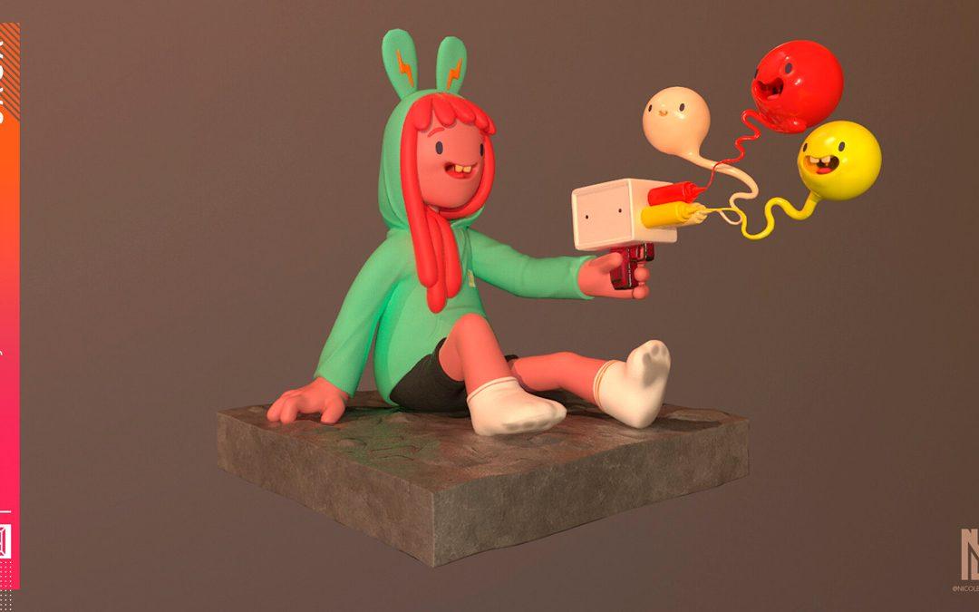 Arte da galeria da Escola SAGA